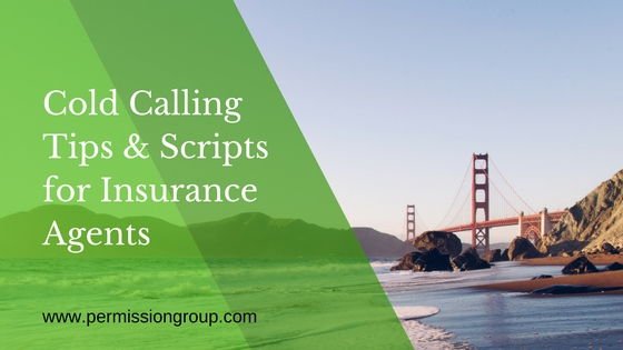 cold calling tips and scripts for insurance agents